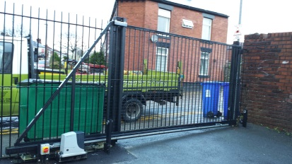 electric gates commercial manchester
