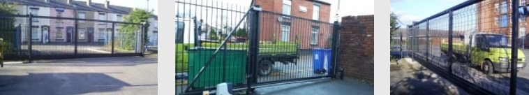 industrial electric gates manchester