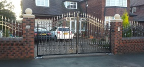 electric gates manchester