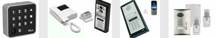 intercoms for electric gates