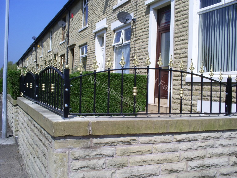 NH Fabrications - Domestic Garden Railings, Manchester, Rochdale