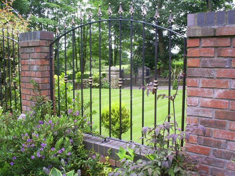Nh Fabrications Domestic Garden Railings Manchester