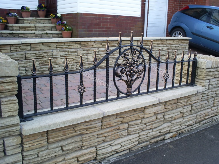 Nh Fabrications - Domestic Garden Railings, Manchester, Rochdale
