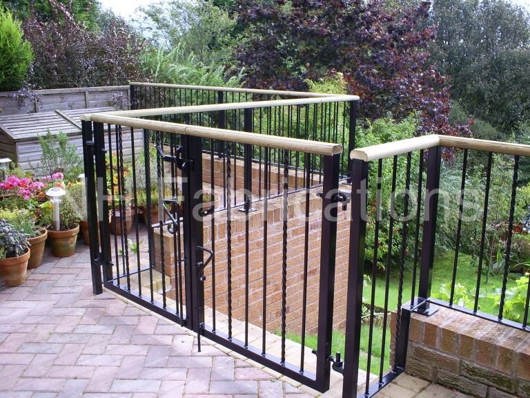 Nh Fabrications Domestic Garden Railings Manchester