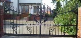 domestic electric gates