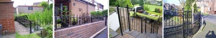 NH Fabrications - Domestic Garden Railings